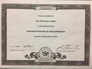 International society sexual medicine